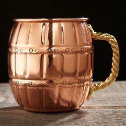 Copper Barrel Mug