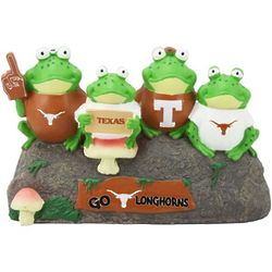 Texas Longhorns Frog Bench Lawn Statue