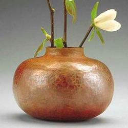 Small Gourd Copper Vase