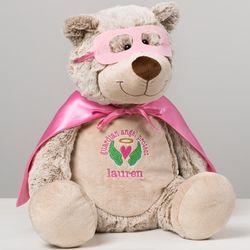 Guardian Angel Superhero Personalized Teddy Bear Buddy