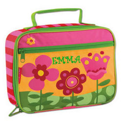 Personalized Flower Lunch Box