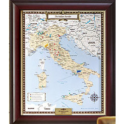 Individual Country Traveler Map
