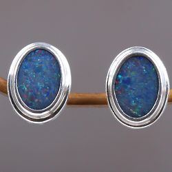 Honesty Opal Earrings