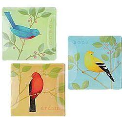 Inspiration Bird Plates