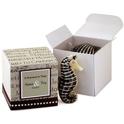 A Moment in Time Sea Life Candle Favor Box