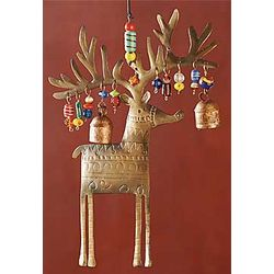 Ring-a-Ling Reindeer Door Decor