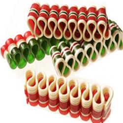 Christmas Ribbon Candy Strips