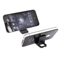Black Portable Keychain Smartphone Kick Stand
