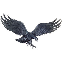 Metal Eagle Wall Decor
