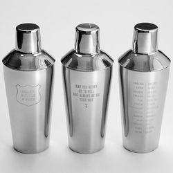 May You Never Go to Hell Stainless Steel Cocktail Shaker