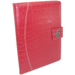 Large Leather Padfolio with Closure