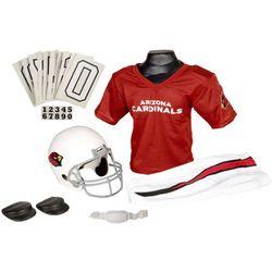 Arizona Cardinals Youth NFL Deluxe Helmet and Uniform Set
