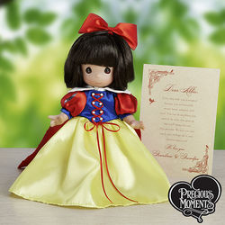 Personalized Precious Moments Snow White Doll with Letter