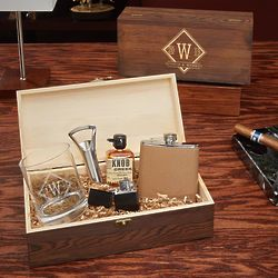 All the Vices Drake Whiskey Gift Set in Personalized Box