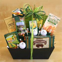 The Avid Golfer Gift Basket