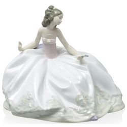 At the Ball Porcelain Figurine