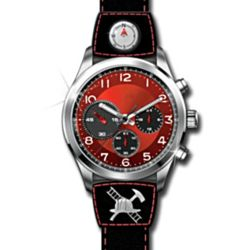 Firefighter's Sports Style Chronograph Watch