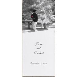Young Love Blank Wedding Programs