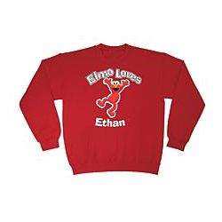 Personalized Elmo Loves... Sweatshirt