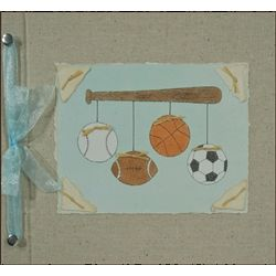 Sports Handmade 5-Year Baby Memory Book