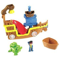 Jake and The Never Land Pirates Splashin' Bucky Bath Toy