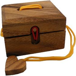 Love Me String Puzzle Box
