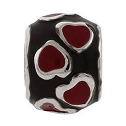 Ring of Red Hearts Oriana Bead