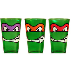 Teenage Mutant Ninja Turtle Glass Tumbler Set