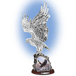 Soaring Majesty Heirloom Glass Sculpture