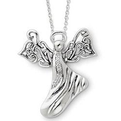 Sterling Silver Angel of Hope Pendant