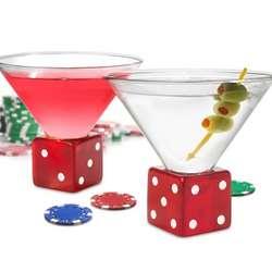 High Roller Martini Glasses