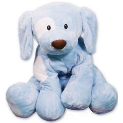 Blue Spunky Toy Puppy