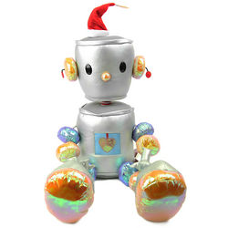 Bleap the Robot Holiday Plush Toy