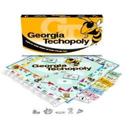 Georgia Tech Yellow Jackets Techopoly Board Game