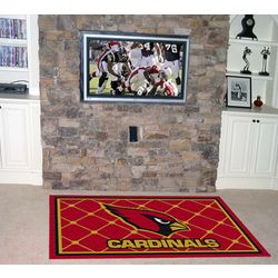 Arizona Cardinals 4x6 Rug