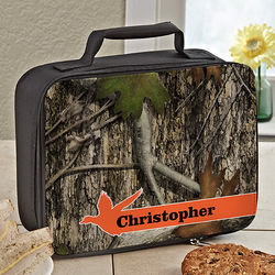 Tree Camo Personalized Lunch Tote