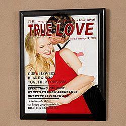 True Love Personalized Photo Magazine Cover