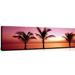 Miami Beach Panorama on Canvas