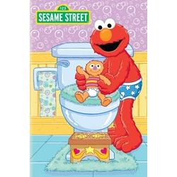 Personalized Elmo Bye Bye Diapers Potty Training Book