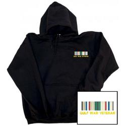 Gulf War Veteran Embroidered Hooded Pullover Sweatshirt