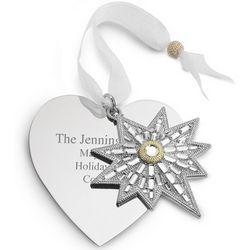 2011 Make-A-Wish Star Christmas Ornament