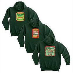 Personalized Holiday Spirits Hoodie