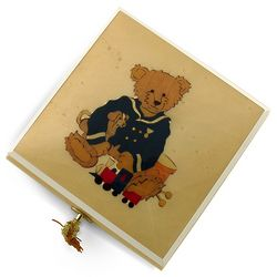 Teddy Bear with Toys Music Box