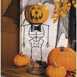Skeleton Pumpkin Holder
