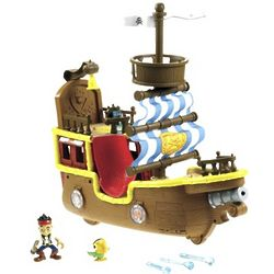 Jake and The Neverland Pirates Bucky Pirate Ship