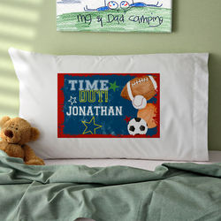 Boy's Sports Personalized Pillowcase
