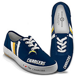 I Love the Chargers Women's Shoes