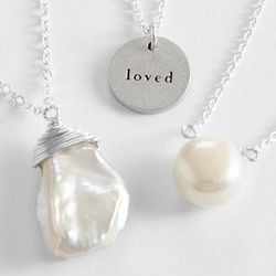 Message to Mom Charm Necklace