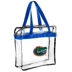 Florida Gators Clear Messenger Basic Tote Bag