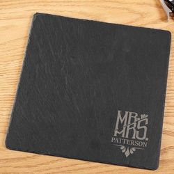 Honorific Engraved Slate Cheese Board